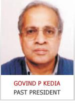 GOVIND P KEDIA